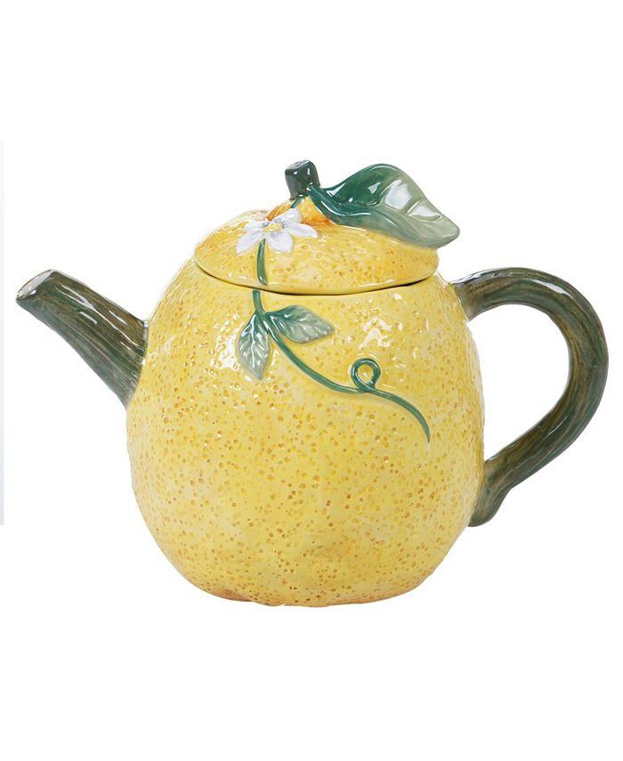 Certified International - Citron 3-D Lemon Teapot
