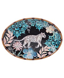 Exotic Jungle Oval Platter