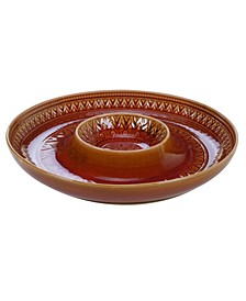 Aztec Rust Chip and Dip