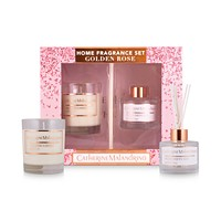 2-Pieces Catherine Malandrino Golden Rose Home Fragrance Gift Set