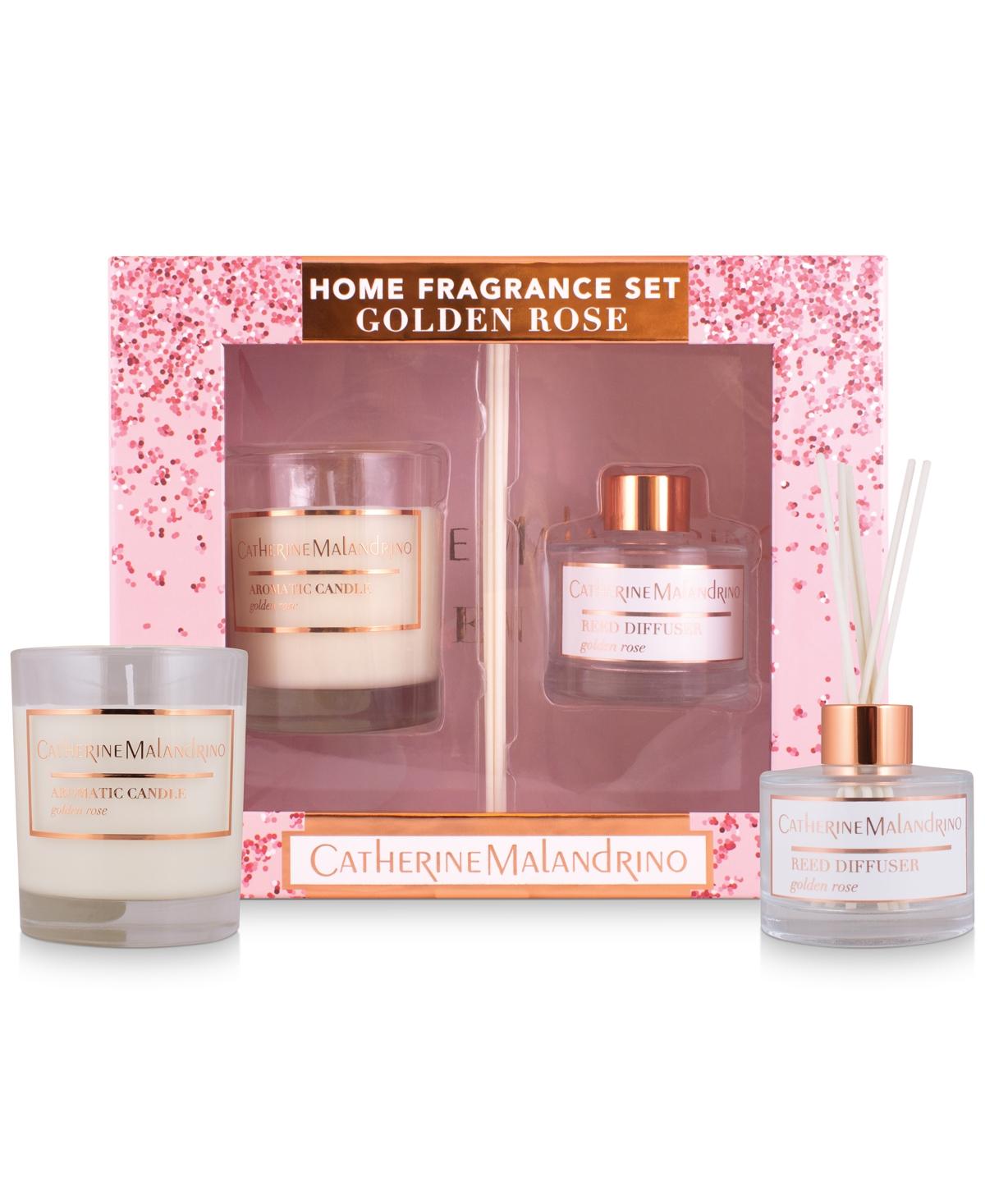Catherine Malandrino 2-Pc. Golden Rose Home Fragrance Gift Set