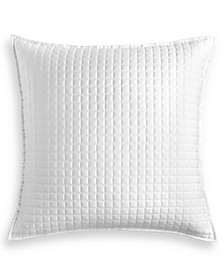 Basic Grid Quilted European Sham, Created for Macy's