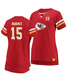 Women's Pat Mahomes Kansas City Chiefs Draft Him T-Shirt 2019
