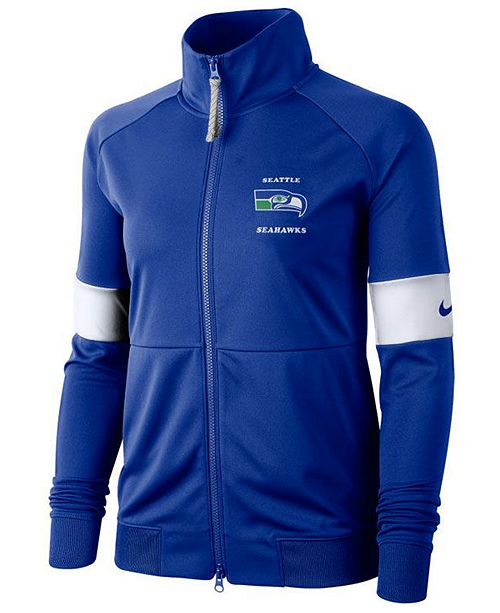 Nike Women's Seattle Seahawks Historic Jacket