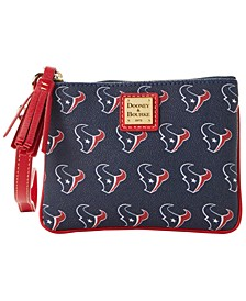 Houston Texans Saffiano Stadium Wristlet
