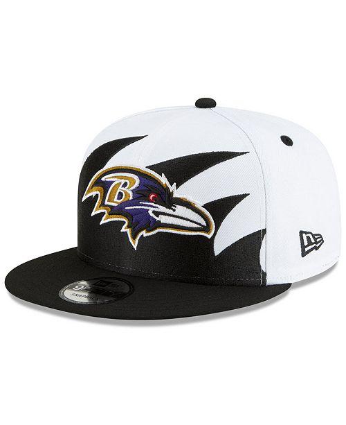 New Era Baltimore Ravens Vintage Sharktooth 9FIFTY Cap