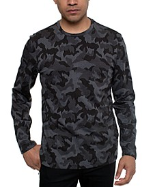 Men's Camo Print Sweater