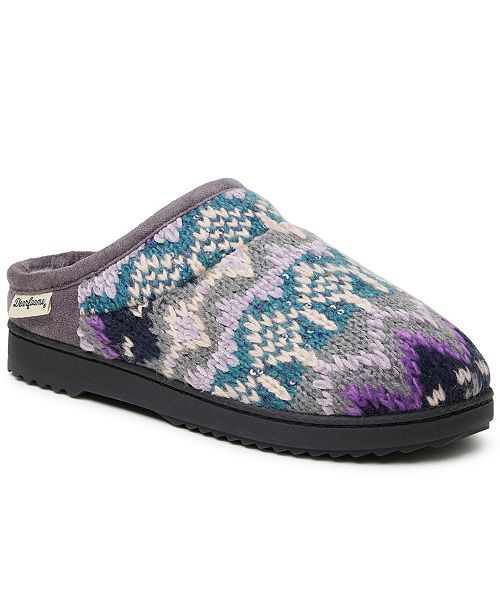 Dearfoams Fairisle Clog Slipper, Online Only