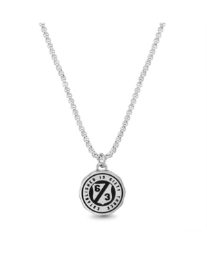 Ben Sherman Enamel Shield Rolo Men's Necklace