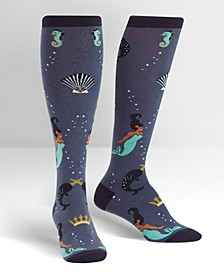 Knee High Deep Sea Queen Socks