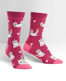 Sock it to me Women's Look at Me Meow Socks