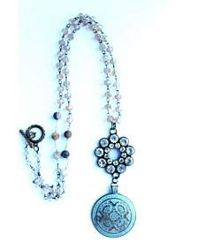 Michael Gabriel Designs Crystal Ming Necklace
