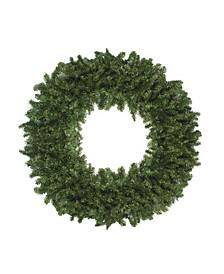 12' High Sierra Pine Commercial Artificial Christmas Wreath - Unlit