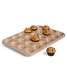 24-Cup Nonstick Champagne Mini Muffin Pan, Created For Macy's