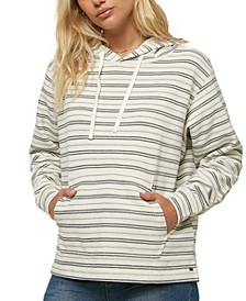 Juniors' Corrie Striped Hoodie