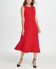 Seamed Midi Dress