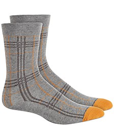 Women's Plaid Crew Socks