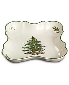 Christmas Tree Devonia Tray
