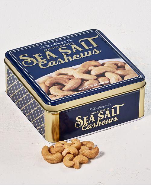 R.H. Macys & Co. 10oz Cashew Gift Tin