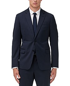 Armani Exchange Men's Modern-Fit Solid Suit Jacket Separate