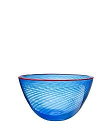 Red Rim Small Bowl