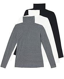 Softwear Stretch Long-Sleeve Turtleneck Top