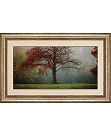 "Late Autumn Morning Framed Wall Art, 33"" x 53"""