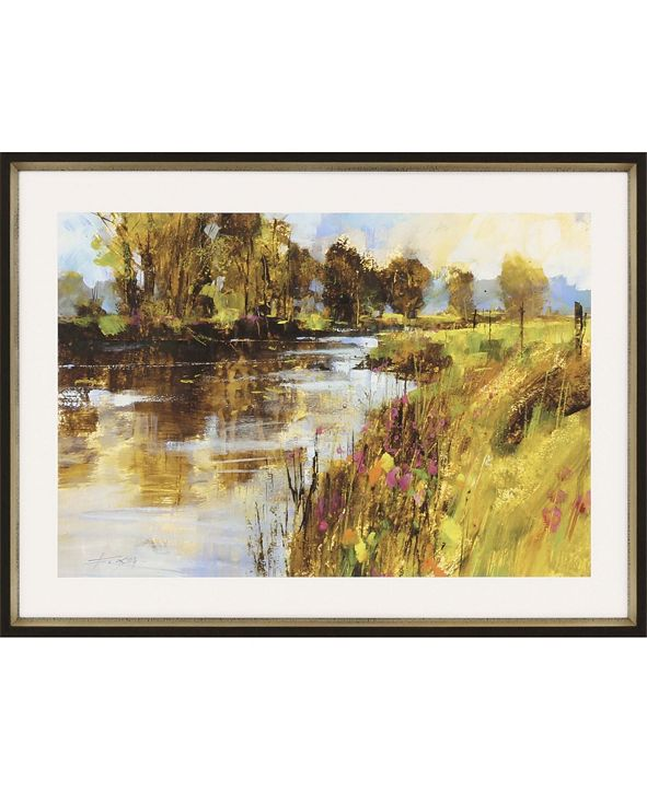 "Paragon Spring River Framed Wall Art, 22"" x 31"""