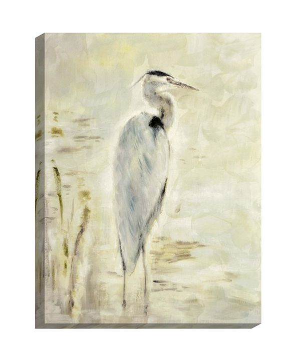 """Paragon Great Blue- Gallery Wrap Wall Art, 41"""" x 31"""""""