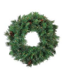 Royal Oregon Pine Artificial Christmas Wreath 24-Inch Unlit