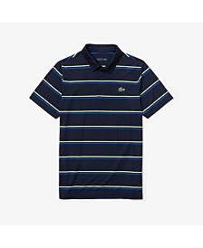 Lacoste Short Sleeve Stripe Golf Polo Shirt