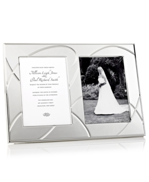 Lenox Picture Frame, Adorn Double Invitation