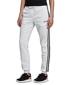 Women's Essentials Fleece 3-Stripe Joggers