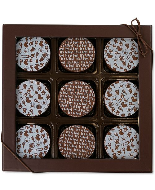 Chocolate Works 9-Pc. Baby Boy Oreos Canister
