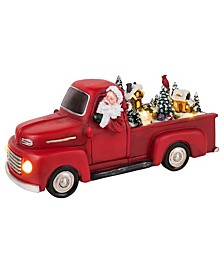 Animated Red Truck