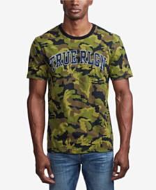 True Religion Men's Camo Printed T-Shirt