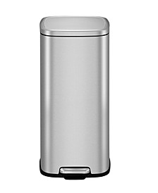 Stella Brushed Stainless Steel 30L Step Trash Can