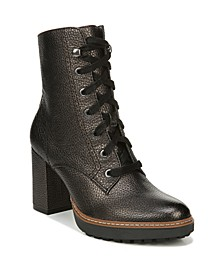 Callie Leather Mid Shaft Boots