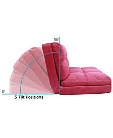 Loungie Microsuede 5-Position Flip Chair
