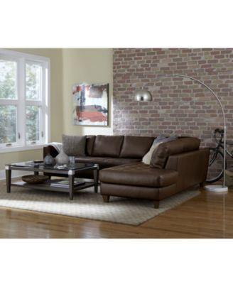 Milano Leather Living Room Furniture Sets U0026 Pieces   Furniture   Macyu0027s