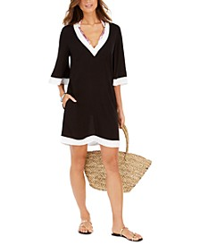 Bel-Air Colorblock Tunic Cover-Up