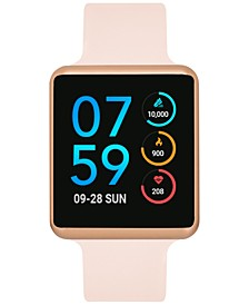 Unisex Air Blush Silicone Strap Touchscreen Smart Watch 35x41mm - A Special Edition