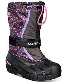 Youth Girls Flurry Print Boots
