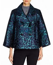 Edna Printed 3/4-Sleeve Jacket