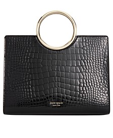 Sam Croc Embossed Bracelet Satchel