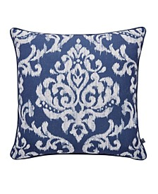 Indian Ink Blue/Silver Pillow