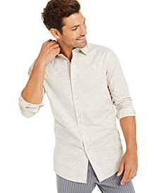 Men's Pillo Melangé Paisley Shirt, Created for Macy's