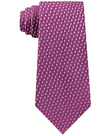 Men's Shadowed Geo Diamond Tie