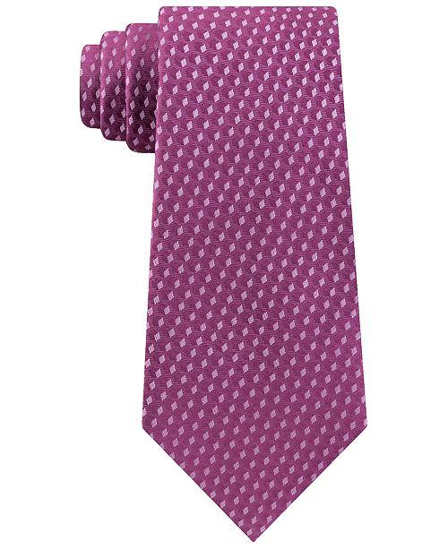 Michael Kors Men's Shadowed Geo Diamond Tie