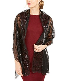 Scalloped Sequin Wrap